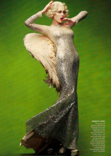 Coco Rocha Craig McDean Vogue Fashion Photography