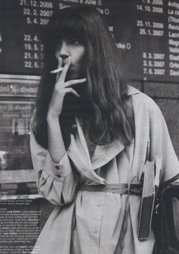 Freja Beha Erichsen Irina Lazareanu Michael Thompson Milana Sasha Pivovarova W Magazine Fashion Photography
