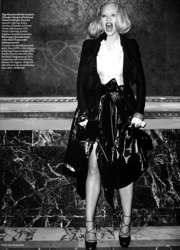 Gemma Ward Terry Richardson Vogue UK Fashion Photography