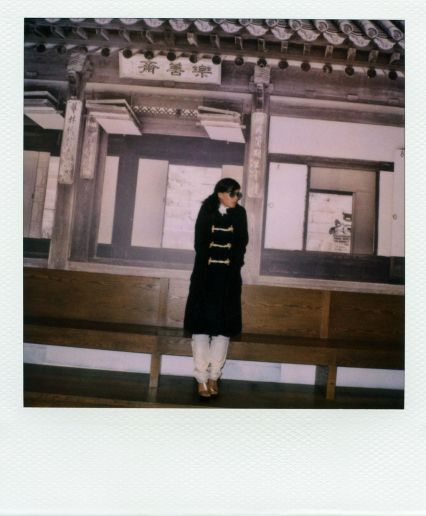 Franka Potente Band of Outsiders LookBook Polaroids Fashion Photography