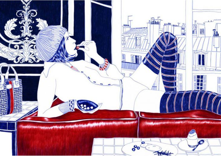 Carine Brancowitz Art Illustration