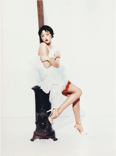 Devon Aoki Ellen von Unwerth Interview Magazine Photography