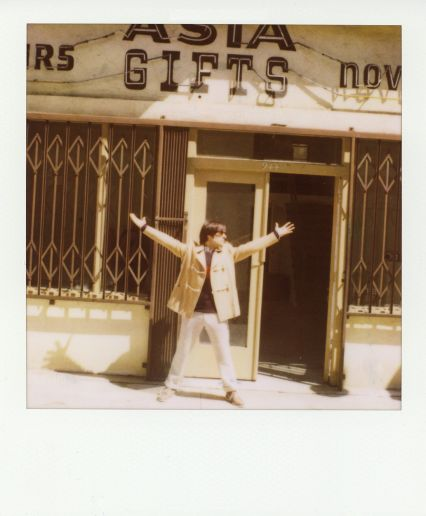Jason Schwartzman Band of Outsiders LookBook Polaroids Photography