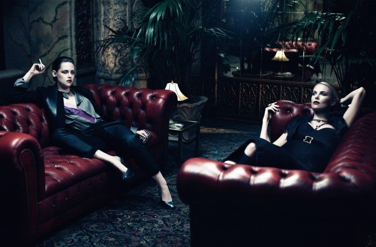 Snow White Photoshoot: Charlize Theron Kristen Stewart! photo 9