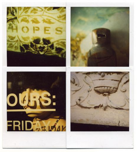 Ed Fella Polaroids Photography
