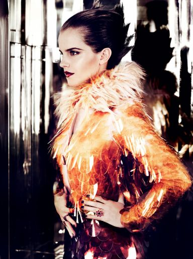 Emma Watson Mario Testino Vogue Photography