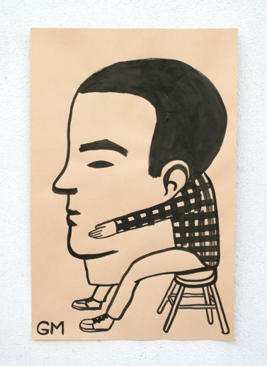 Geoff Mcfetridge Illustrations Painting Skateboarding