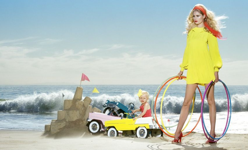 Kristy Hume Miles Aldridge NY Times Magazine Fashion Photography