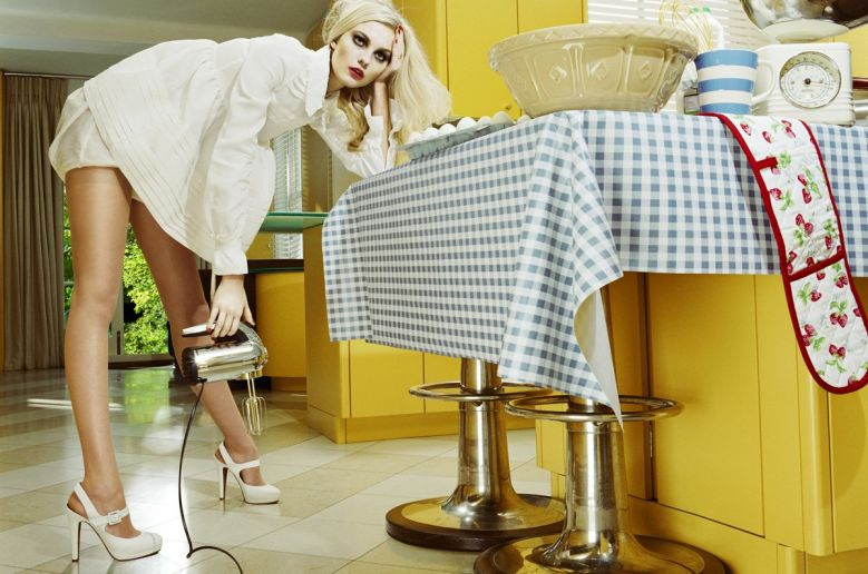 Caroline Trentini Miles Aldridge Vogue Italia Fashion Photography