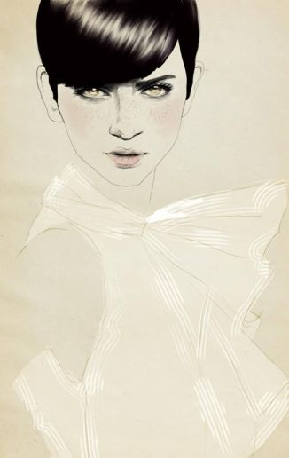 Sandra Suy Fashion Illustration