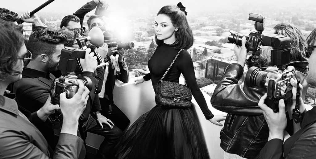 Mario Sorrenti Mila Kunis Dior Fashion Photography