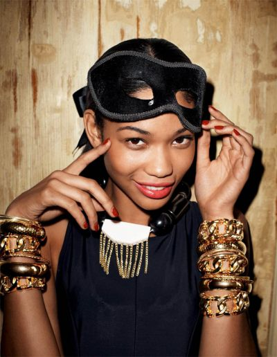 Chanel Iman Terry Richardson H&M LookBook Fashion Photography