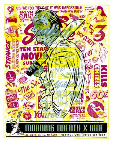 Morning Breath Inc. Collage Poster Illustration