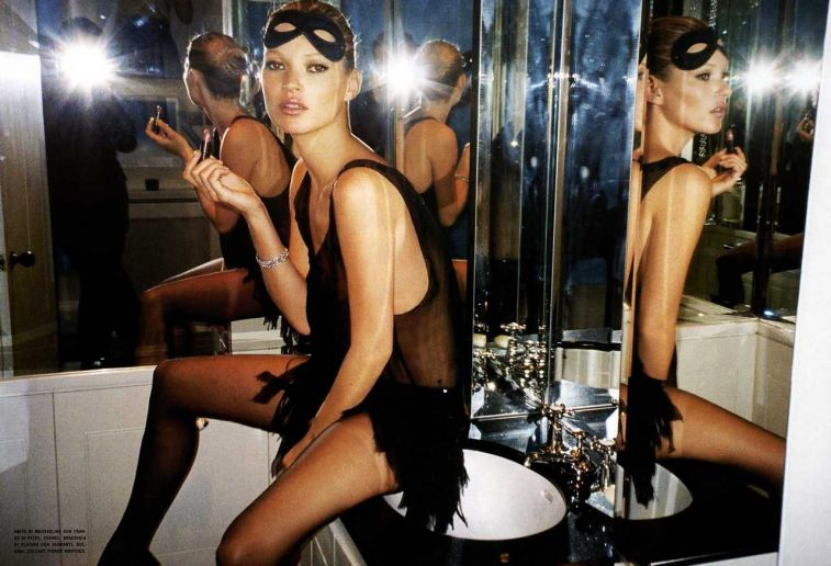 Kate Moss Mario Testino Vogue Italia Fashion Photography