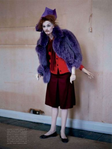 Tim Walker Vogue Italy Photography