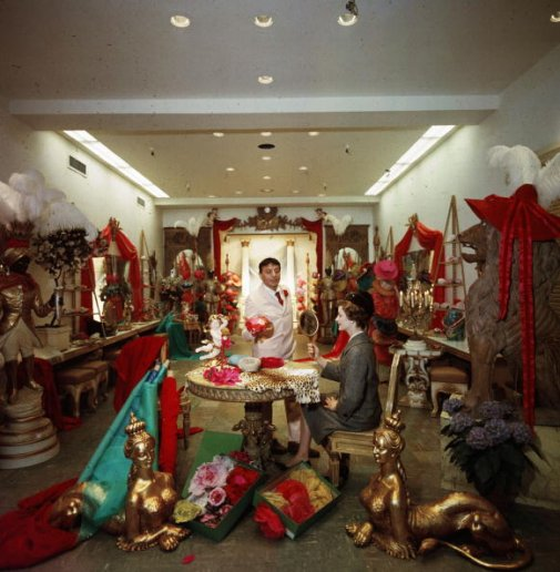 Slim aarons society iconology for 57th street salon