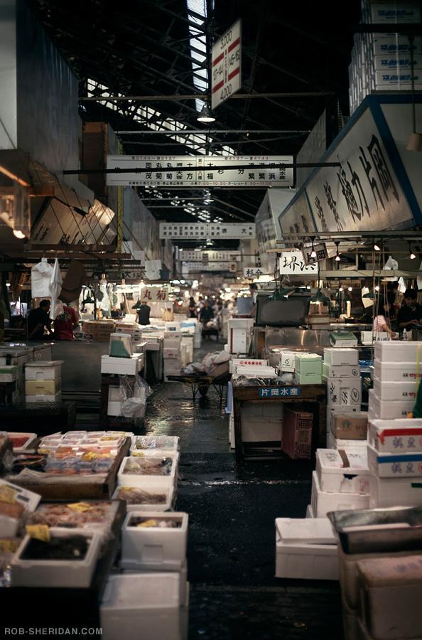 Tsukiji fish market by rob sheridan iconology for Tsukiji fish market